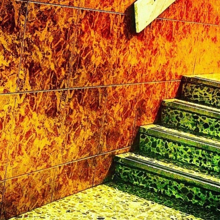 Stairway to hell. Would you dare climb it?