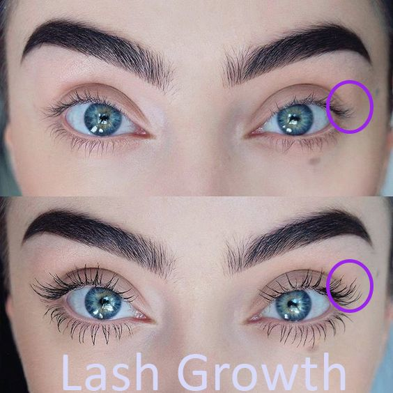 Grow lashes now.
