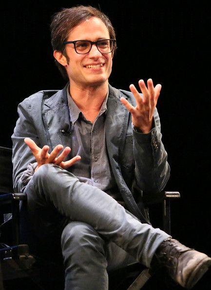 Actor  Gael Garcia Bernal attends The New Yorker Festival - In Conversation - Gael Garcia Bernal Talks With Jon Lee Anderson at Florence Gould Hall on October 5, 2013 in New York City.