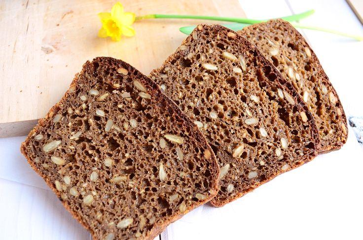 Chleb żytni razowy 100% - przepisnachleb.pl