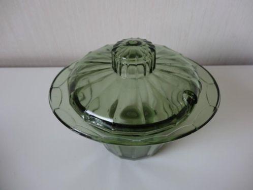 A.D. Copier Neerlandia  Dekselschaal / Neerlandia Lidded bowl Green  via Marktplaats.nl  9 €