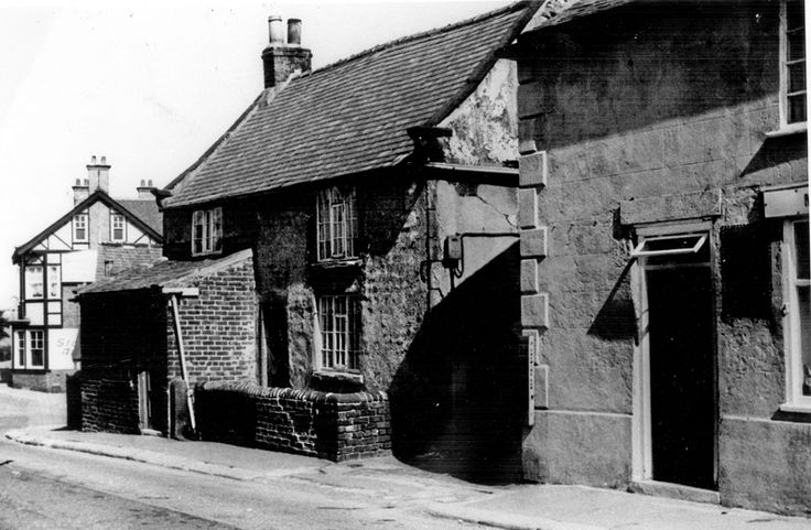 Sally Marples' Shop, General Store, Gleadless Road, Old Gleadless Post Office on extreme right, Heeley and Sheffield House in background