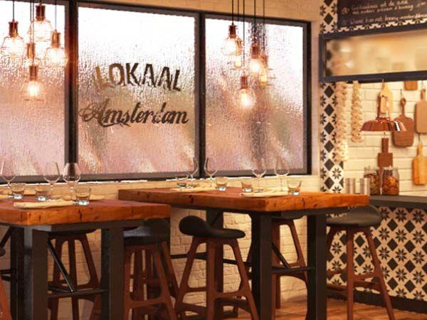 Lokaal Amsterdam: grand cafe at Wibautstraat