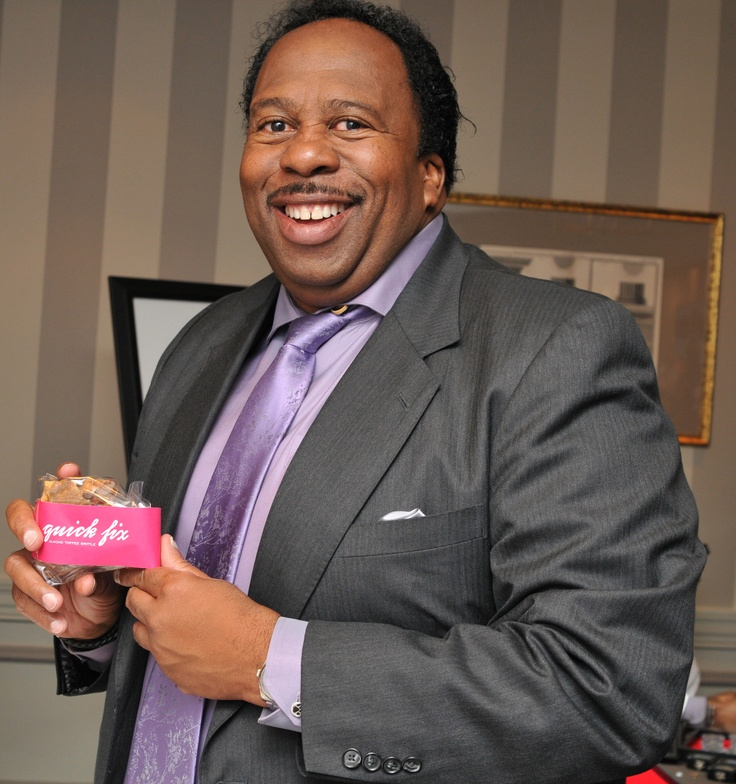 "Leslie David Baker from 'The Office' and ""quick fix"". CTCOCO.com"