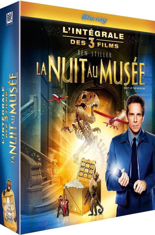 La Nuit au musée 3 : L intégrale des 3 films- BLU-RAY