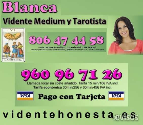 Vidente Honesta Blanca 960967126  Hola,  mi nombre es Blanca y soy VIDENTE NATURAL y MEDIUM, ..  http://huesca-city.evisos.es/vidente-honesta-blanca-960967126-id-694152