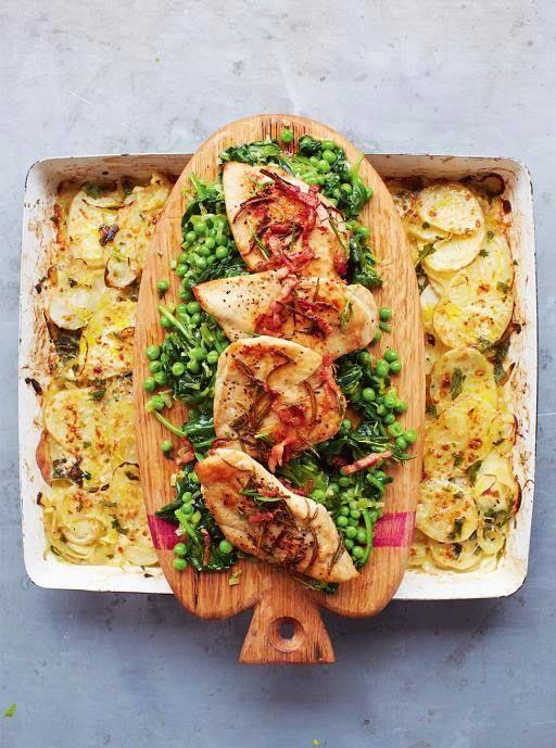 La+cucina+tradotta+di+Jamie:+Petti+di+pollo+al+rosmarino+fresco+e+patate+al+gra...