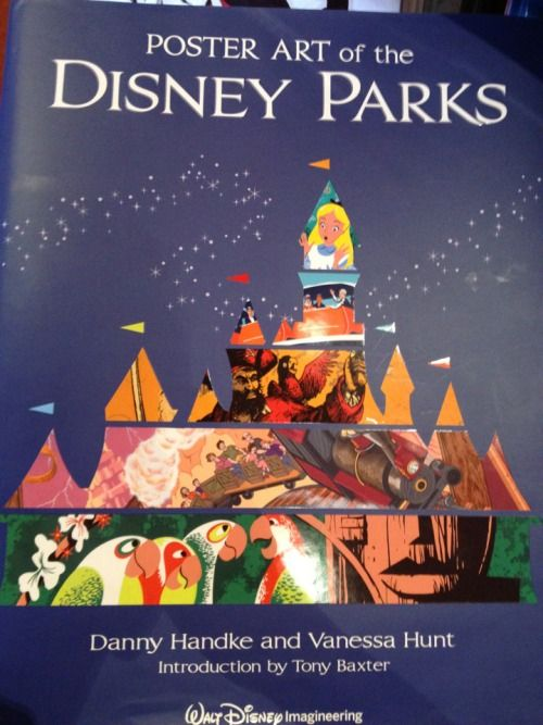 7 best life changing books images on pinterest books to read poster art of the disney parks a disney parks souvenir book fandeluxe Images