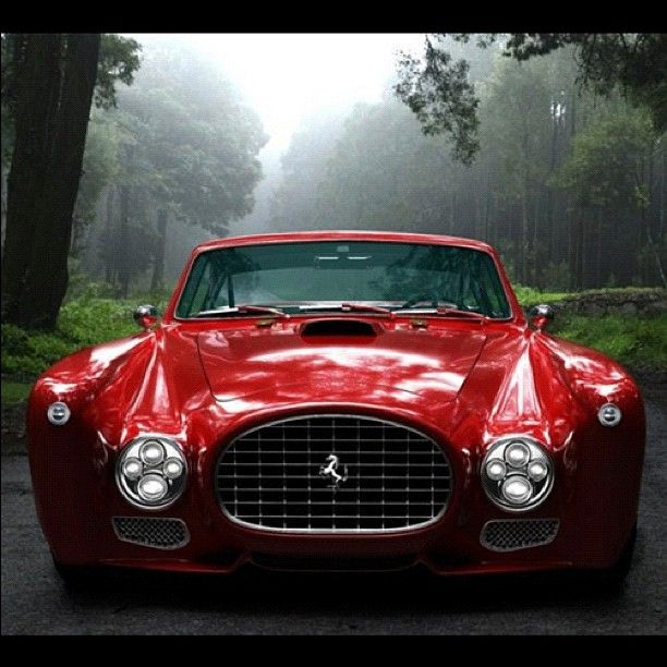 Ferrari F-340... reminds me of holiday walks with Matt and family at Mimi and Poppy's house