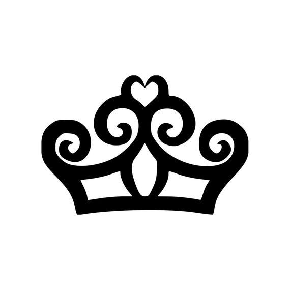 Tiara Princess Crown Vinyl Decal Sticker Queen Etsy In 2020 Vinyl Decal Stickers Vinyl Sticker Design Vinyl Decals