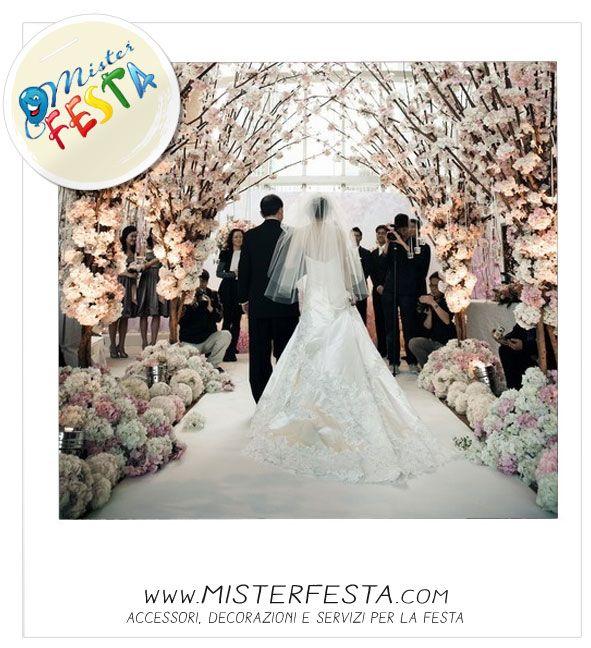 #decorazioni per il #matrimonio che rendono suggestivo il percorso verso la #celebrazione del tuo sogno