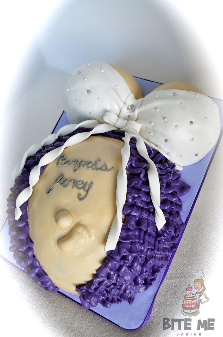 baby bump cake by bite me baking