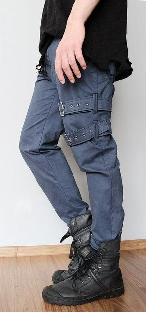 Image of Gentlemen Pants with Thigh Straps