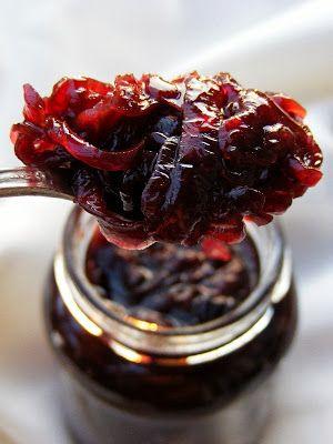 Vaníliás balzsamecetes lilahagymalekvár