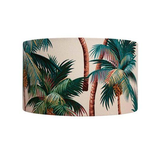 Palm tree design lamp shade — Interior & Exterior Doors Design | HomeOfficeDecoration