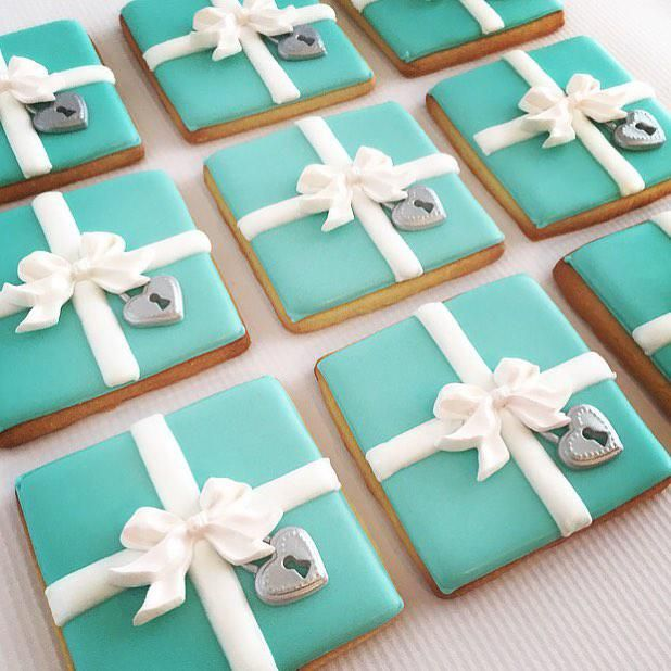 Tiffany Box Cookies   Cookie Connection