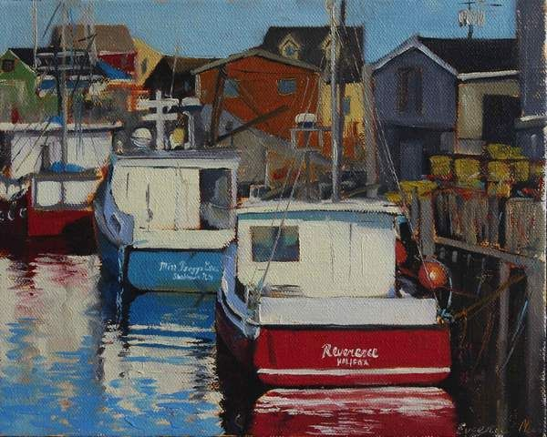 Boats of Peggy's Cove
