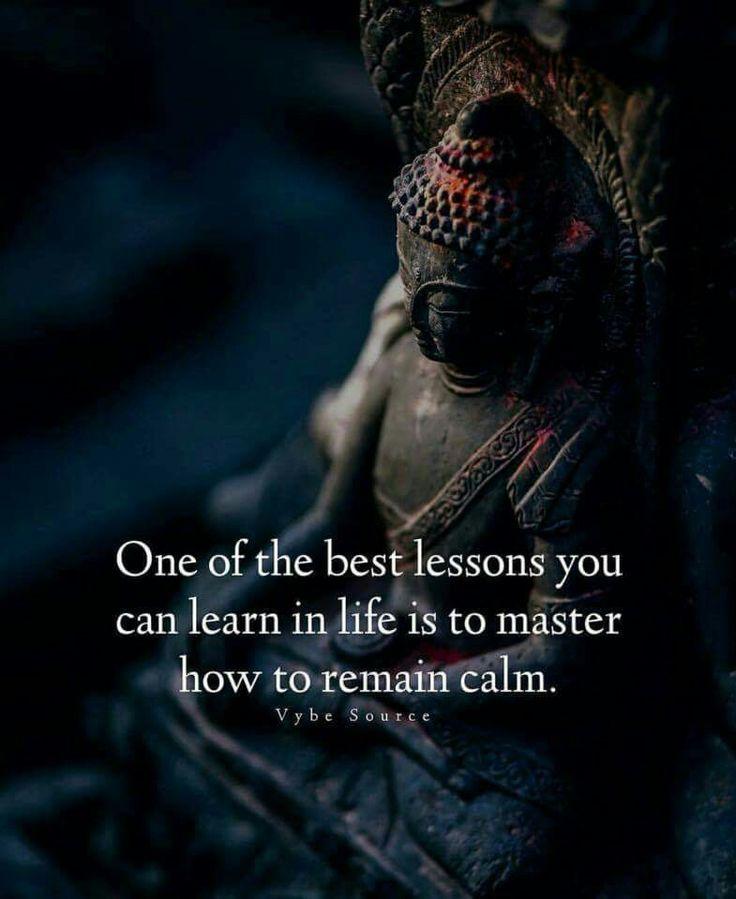 Master of calm