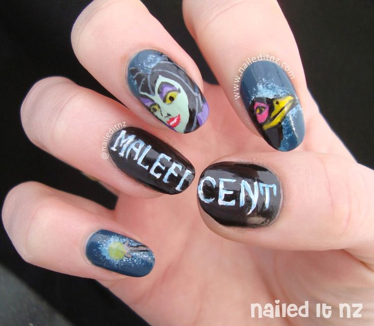 Sleeping Beauty Nails: 1000+ Images About Villain Nails On Pinterest