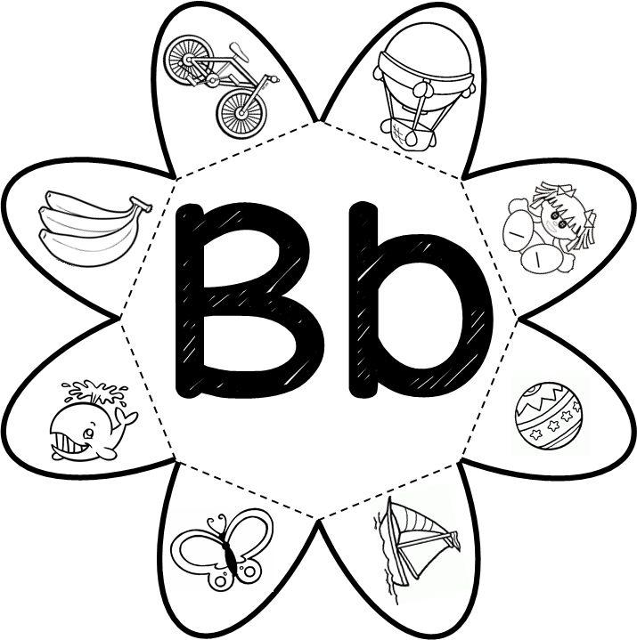 Atividade interativa letra B   Com esta atividade podemos trabalhar a escrita espontânea, formação de frases, classificação e pe...
