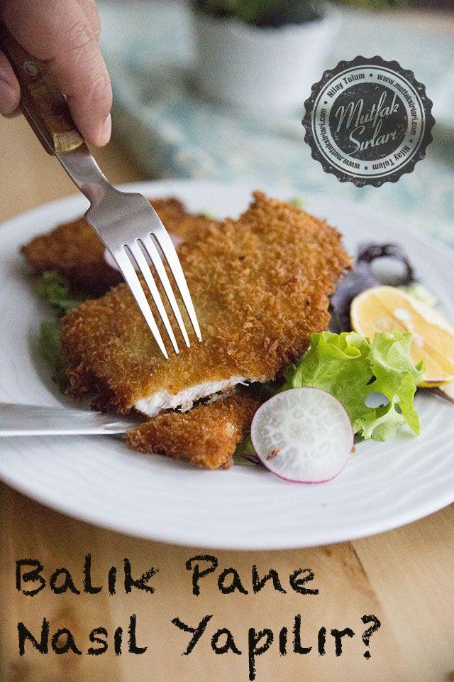 Balık Pane Nasıl Yapılır? (levrek)