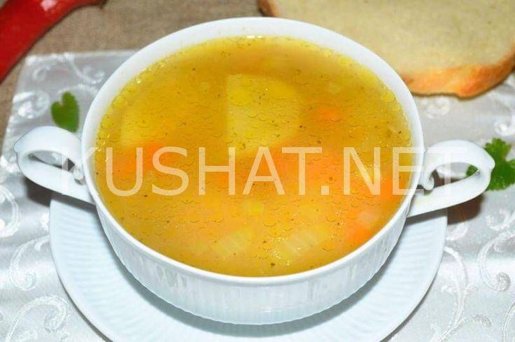 Рисовый суп с курицей. Пошаговый рецепт с фото