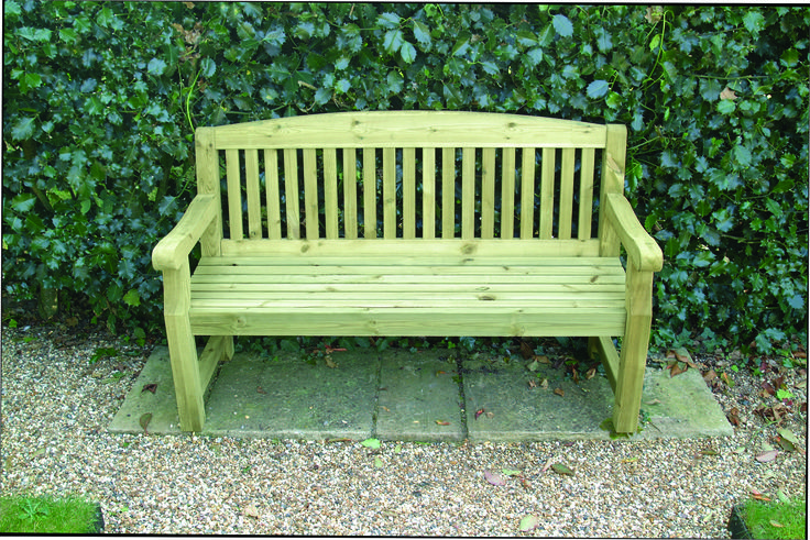 1500mm (5') Pressure Treated Softwood Bench