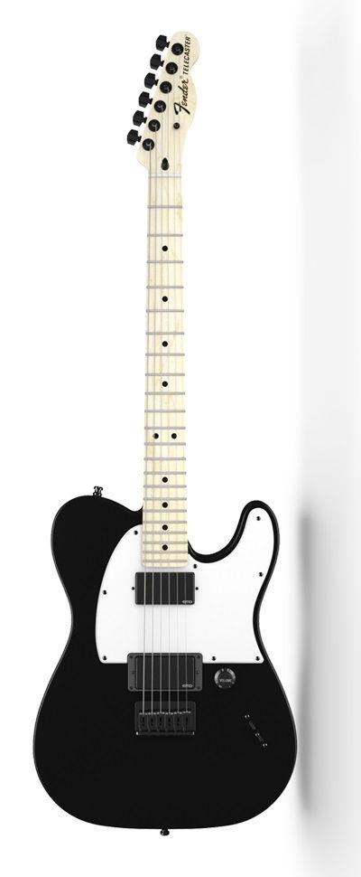 Fender Jim Root Telecaster® Flat Black