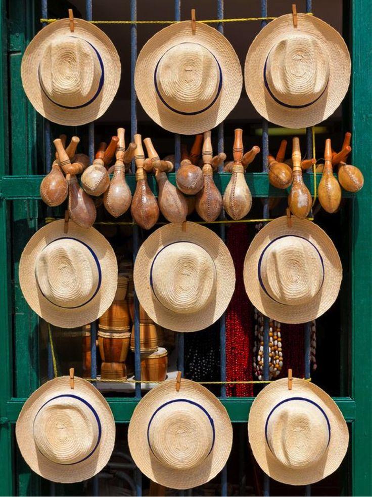 Cuban hat display