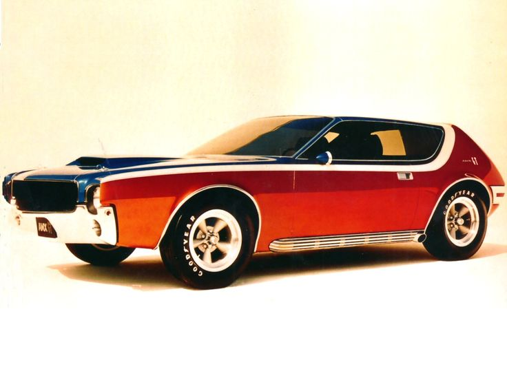 AMC AMX-GT concept...looks like a Gremlin body to me.