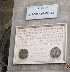 Galleria Vittorio Emanuele de MIlao