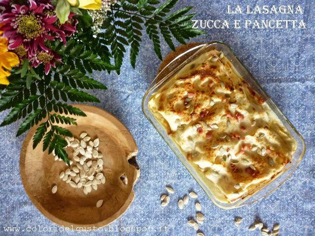 : Le Lasagne autunnali con la zucca