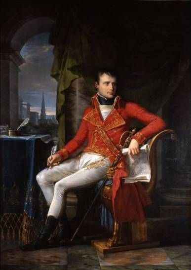 Charles Meynier (1763-1832) Napoléon Bonaparte, Premier Consul, 1804 Bruxelles, Musées de la Ville de Bruxelles