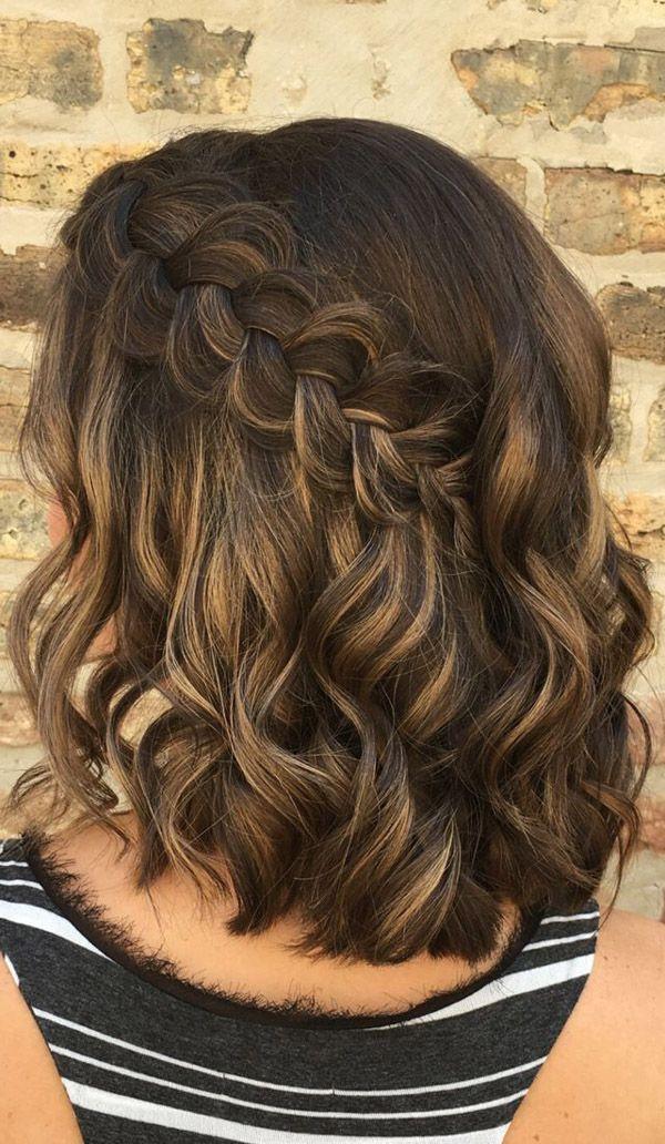 Braided Hairstyles 8 Short Wedding Hair Elegant Braided Hairstyle Braids For Short Hair
