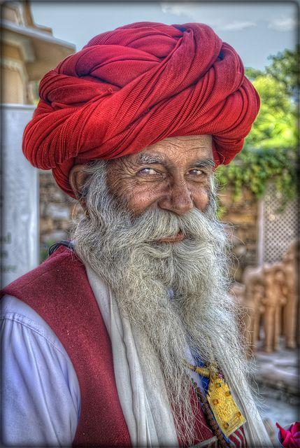 Red Turban in Rajasthan