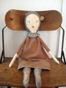 Jess Brown Rag Doll - traditional - kids toys - Jess Brown Design