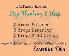 www.MyDoterra.com/DoterraPlatinumOils Doterra essential oils Stop thinking and sleep balance serenity wild orange by Annie Williamson