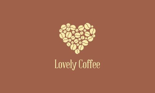 Brewing Coffee Themed Logo Design
