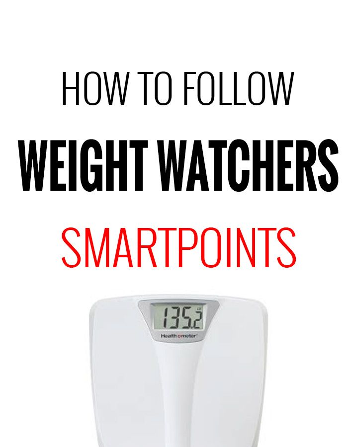 How to Follow Weight Watchers SmartPoints Program – Recipe Diaries