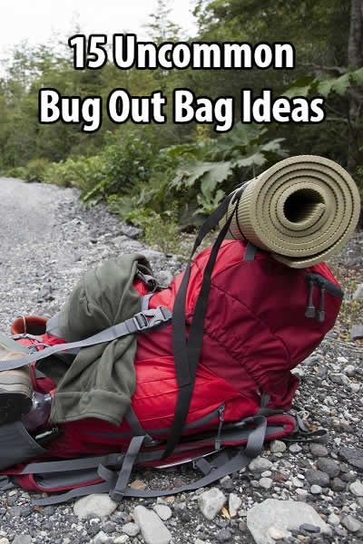 If you have a bug out bag or are planning to make one, check out this article by Survivalist Prepper. There are some really good ideas in it.