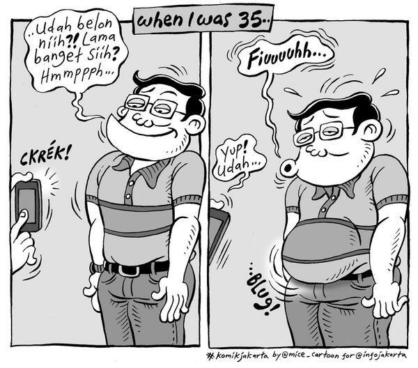 Fashion is Pain #KomikJakarta @mice_cartoon