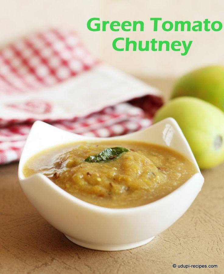 about Green Tomato Chutney Recipe on Pinterest | Tomato chutney, Apple ...