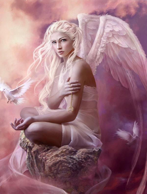 Faith - fantasy art