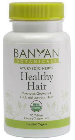 Healthy Hair tablets, certified organic. Ayurvedic Energetics: Rasa (taste): bitter, pungent Virya (action): cooling Vipaka (post-digestive effect): pungent Doshas (constitutions): Balancing for all doshas