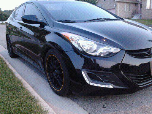 Black Elantra GT Rims & Tires - Hyundai Forums : Hyundai Forum