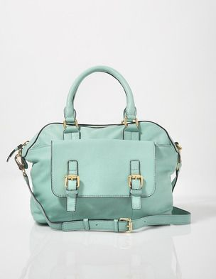 Can never get enough of turquoise and coral.  I've spotted this @BodenClothing Soft Leather Bowling Bag