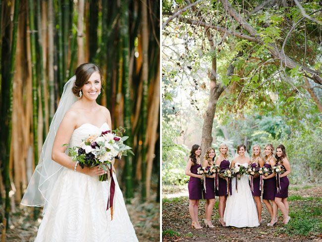 Image result for plum bridesmaid