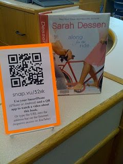 The True Adventures of a High School Librarian: QR Codes in the High School Library