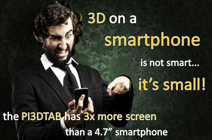Wow, did you know it? GLASSES FREE 3D TABLET special numbered limited edition (999 only)!
