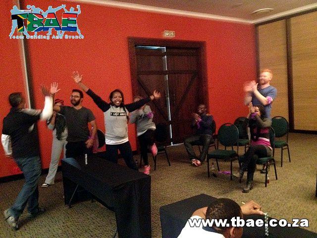 Indoor Team Building #SAB #TeamBuilding #MinuteToWinIt